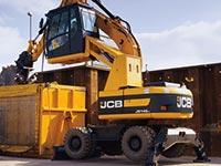 JCB Recycling Umschlagbagger